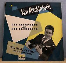 "Ken Mackintosh son saxophone & orchestre-UK 10"" Vinyl LP EXCELLENT état"