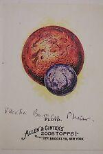 Venetia Burney Phair (d.09) Signed Autograph 2008 Allen & Ginter Pluto #233 K