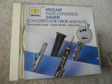 DEUTSCHE GRAMMOPHON Mozart Flute Concertos SalierOboe & Flute  CD W GERMANY PDO