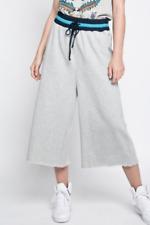BNWT DIESEL P PARLE Pantaloni Cropped Casual Pants Wide Leg Womens MED W30 L18