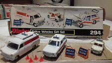 dinky 294 police vehicles gift set in original  box