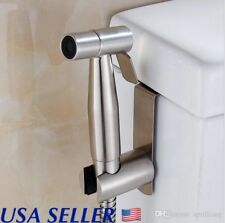 Stainless Steel Handheld Bidet Spray Cloth Diaper Sprayer Shattaf Clean SPA