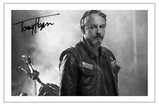TOMMY FLANAGAN SONS OF ANARCHY SIGNED PHOTO PRINT AUTOGRAPH CHIBS SOA