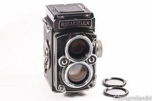 *EXC+* Rollei ROLLEIFLEX 80mm Planar 2.8 D TLR Camera 2.8/80 CLA'd #2799