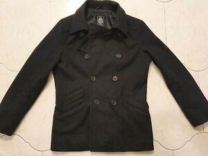 RDX Tailored Wool Blend Men's Coat Size Large