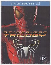 Spider-Man Trilogy Blu-ray Steelbook [REGION FREE] New / Sealed Marvel Comic