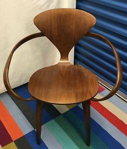 The Cherner Chair Company- 5 Orig Pretzel Chairs. Walnut $750 each