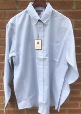 $70 RED HOUSE MENS COTTON LT BLUE CLASSIC OXFORD DRESS SHIRT 4XLT XXXXL 4XL TALL