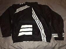 Adidas Y-3 By Yohji Yamamoto Mens Black Windbreaker Jacket Size XL