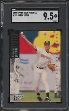 1994 Upper Deck Minor League Derek Jeter #185 Yankees XRC Rookie SGC 9.5 MINT+