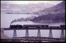 35mm slide TCDD Türkiye Cumhuriyeti Devlet Demiryollari steamer where?Turkey87or