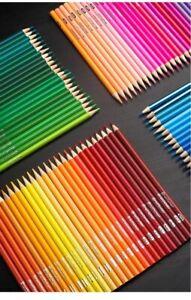 Brutfuner 180 Colors Professional Oil Color Pencils Wood Soft Watercolor Pencil