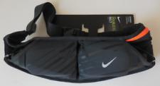 Nike Doble Bolsillo Flash Cinturón 591ml Antracita / Negro/Plata Hombre para