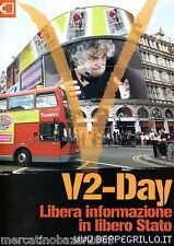 BEPPE GRILLO V2-Day Libera Informazione in libero Stato (2008) 2 DVD BOX SET