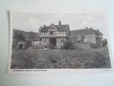 Vintage RPPC STOKESAY CASTLE, GATEHOUSE L.5216 - Unposted    §A909
