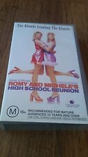 ROMY AND MICHELE'S HIGH SCHOOL REUNION - MIRA SORVINO, LISA KUDROW - VHS VIDEO