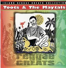 Toots & / and the Maytals 'Reggae Greats' CD album, 1997 on Spectrum/Island