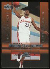 2003-04 Upper Deck Star Rookie Exclusives #1 LeBron James Cavaliers RC