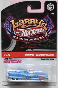 HOT WHEELS LARRY'S GARAGE METRORAIL NASH METROPOLITAN #3/20