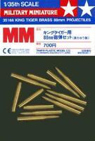 Tamiya 35166 King Tiger 88 mm Gun Projectiles 1/35 Scale Diorama Accessory
