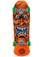"Santa Cruz Skateboard Old School Cruiser Roskopp Face Mini Orange 8"" x 26"""