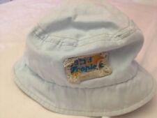 1953 Tropical Beach - capellino celeste chiaro - 56 cm - 100% cotone - USATO