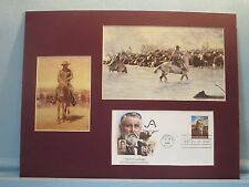 The Cattle Drives of the West & the Goodnight-Loving Trail & First day Cover