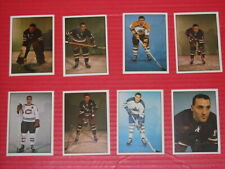 1981 TCMA Hockey Card lot x 8. Plante, Mahovlich, etc. HOFers.  NM