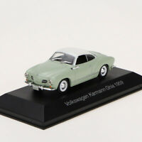 IXO 1:43 Volkswagen Karmann Ghia 1959 Diecast Model Car Toy Collectible