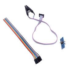 SOIC8 SOP8 Chip Test Clips Socket Adpter Converter For Wellon UPA-USB Programmer