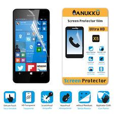 3x PELLICOLA per Nokia Microsoft Lumia 550 FRONTE + PANNO PROTETTIVA DISPLAY