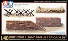 Tamiya 1/48 Brique/sac de Sable/barricade Set # 32508