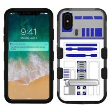 "for Apple iPhone Xs Max (6.5""), Hard+Rubber Rugged Case Star Wars R2D2"