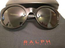 Ralph Lauren black frame sunglasses. RL 8104. With case / cloth.