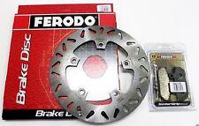 FERODO SET PADS + DISC REAR BRAKE SUZUKI BURGMAN 650 (2 DISCS) 2006
