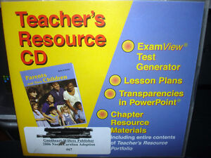 Parents and Their Children Teachers Resource Guide (CD-ROM) WORLDWIDE SHIP AVAIL