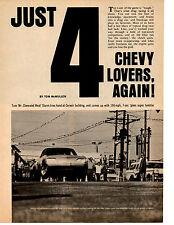 1968 CHEVROLET CORVAIR SEMI-HEMI 427  ~  NICE ORIGINAL 5-PAGE ARTICLE / AD