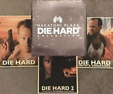 20th Century Fox DIE HARD 30th Anniversary SCRIPT & SERIES Nakatomi COLLECTION