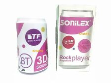 Sonilex Bluetooth Can Speaker - USB Drive, Memory Card, FM Radio Play MP3 Songs