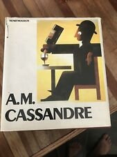 New listing Henri Mouron / A.M Cassandre First Edition 1985