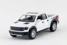 "5"" Kinsmart 2013 Ford F-150 SVT Raptor SuperCrew 1:46 Diecast Model Truck- White"