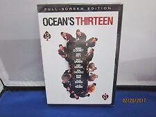 Ocean's Thirteen (DVD, 2007, Full Frame)  NEW, SEALED Super Fast Shipping