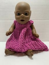 Anatomically Correct African American Black Baby Infant Girl Newborn Doll