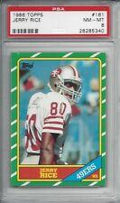 1986 Topps #161 Jerry RICE - PSA 8+++ HOF RC 49ers