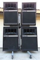 4 Vintage Altec Lansing 2-Way Theatre Loudspeakers ER-15 908-8B 921-8A