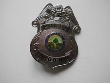 """amerikanisches Polizeiabzeichen (Dienstmarke) """"SPECIAL POLICE FARGO """" Replikat"""