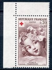 STAMP / TIMBRE FRANCE NEUF  N° 1366a ** CROIX ROUGE / FRAGONARD  ISSUS DE CARNEt