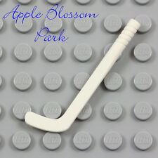 NEW Lego Minifig White HOCKEY STICK  - Friends Sports Player Gear Utensil Weapon