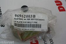 Piastrino sx per sotto carena Originale Ducati Codice 96962003B