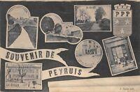 CPA 04 SOUVENIR DE PEYRUIS
